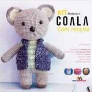 Kit Amigurumi Coala - Materiais com Receita Impressa