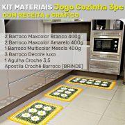 Kit Materiais Jogo de Cozinha 3 peças (Revista brinde)