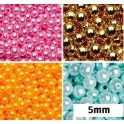 Pérola Colorida 5mm pc 50un