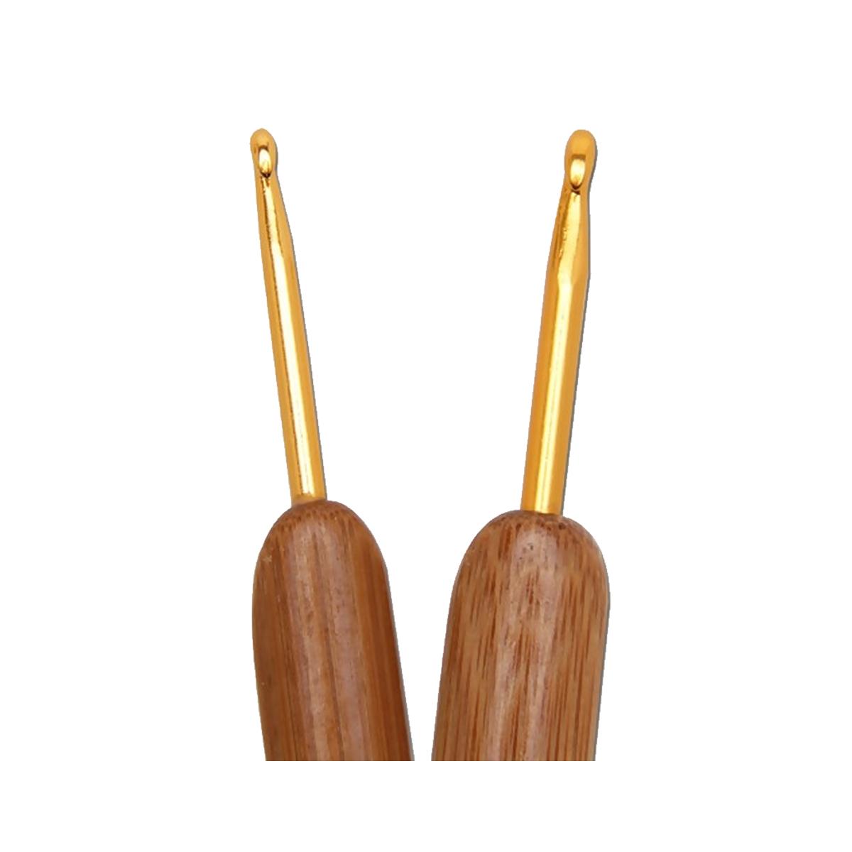 Agulha para Crochê cabo de Bambu Círculo S/A