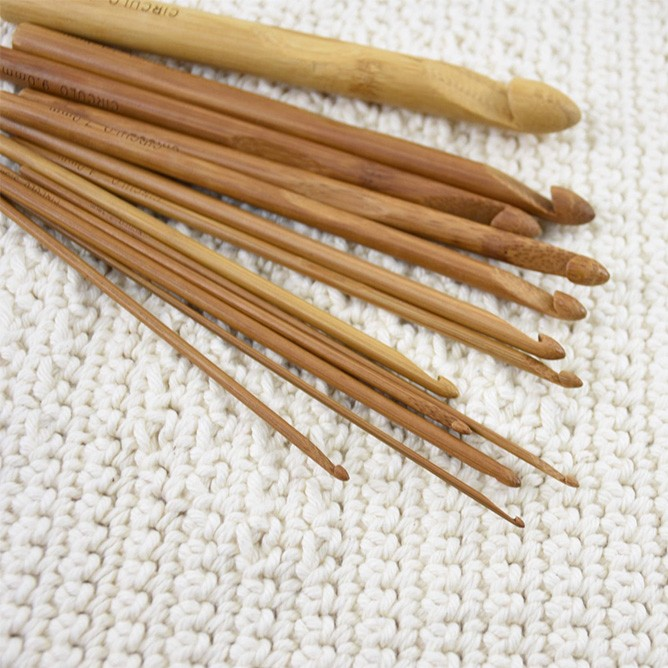 Agulha De Crochê Bambu Eco Círculo S/A (Unid)