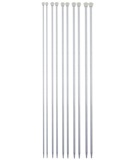 Agulha Para Tricô De Aluminio Circulo S/a 35cm