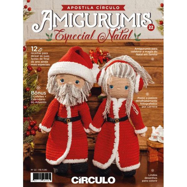 Apostila Amigurumi Circulo Especial Natal N. 22