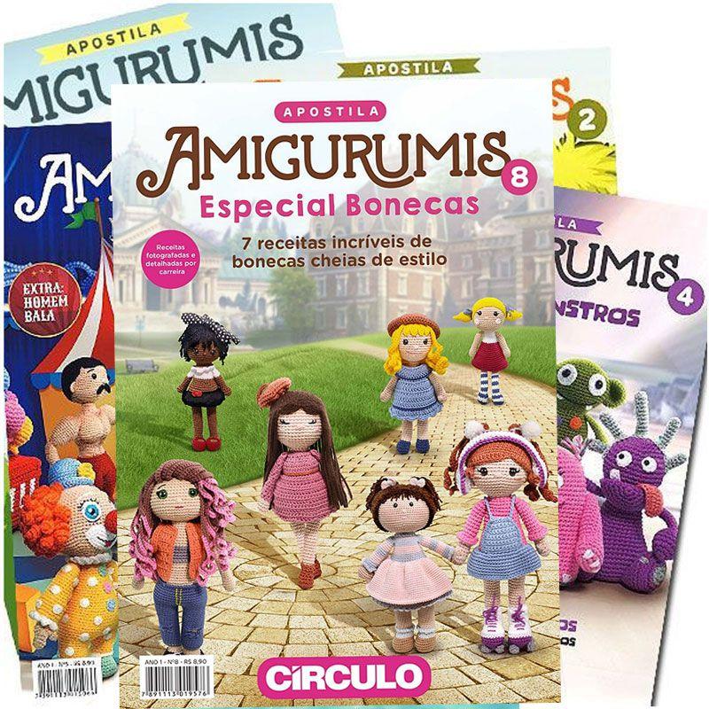 Apostila Amigurumis Círculo S/A
