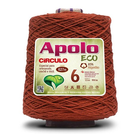 Barbante Apolo ECO 4/6 600g  Círculo S/A