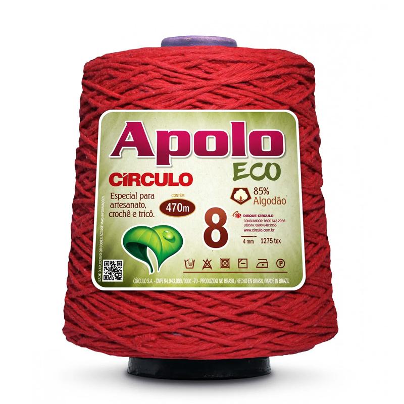 Barbante Apolo ECO 4/8 600g  470mts Círculo S/A