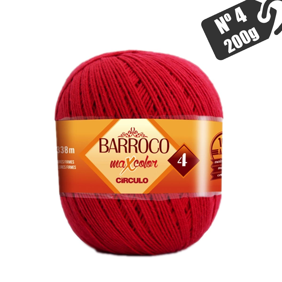 Barroco MaxColor Nº 4 200g Círculo S/A