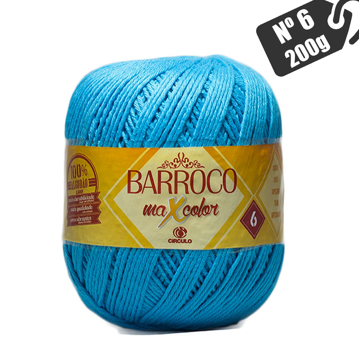 Barroco MaxColor Nº 6 200g Círculo S/A