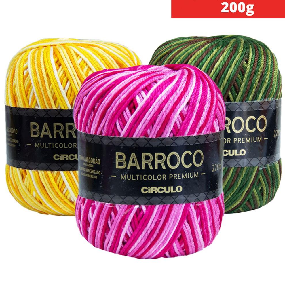 Barroco Multicolor PREMIUM 200g Círculo S/A