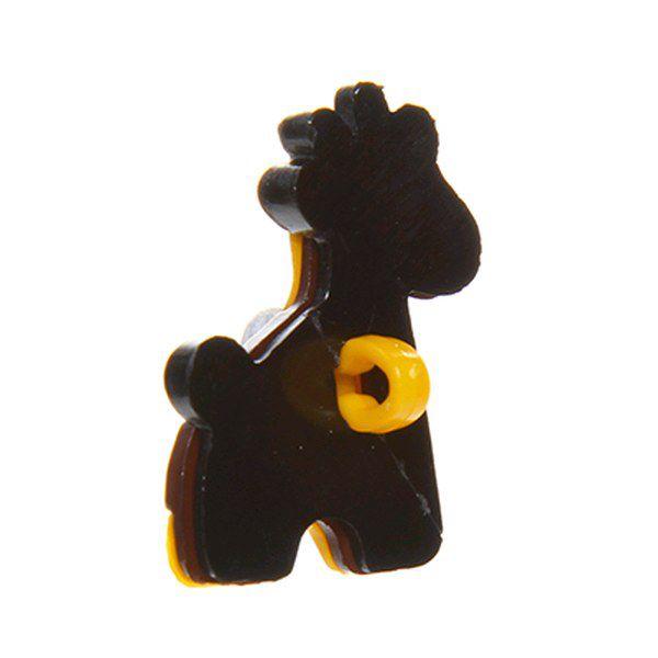 Botão infantil Girafa com 12 un