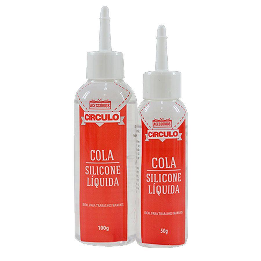 Cola Silicone Líquida 100g Círculo S/A