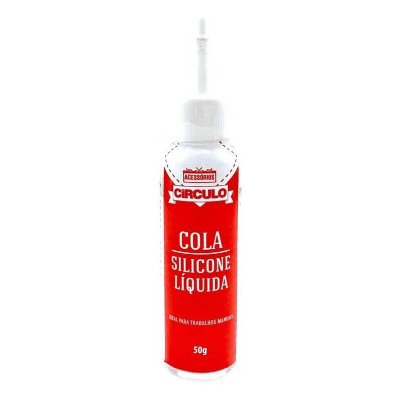 Cola Silicone Líquida 50g Círculo S/A
