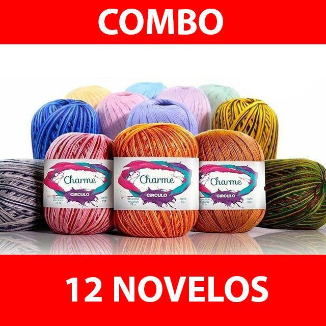 COMBO 12 NOVELOS CHARME
