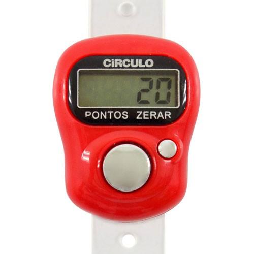Contador de Pontos Digital Círculo