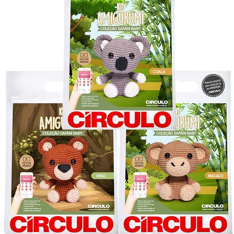 Safári Baby: conheça os novos Kits Amigurumi! • Círculo S/A | 800x800