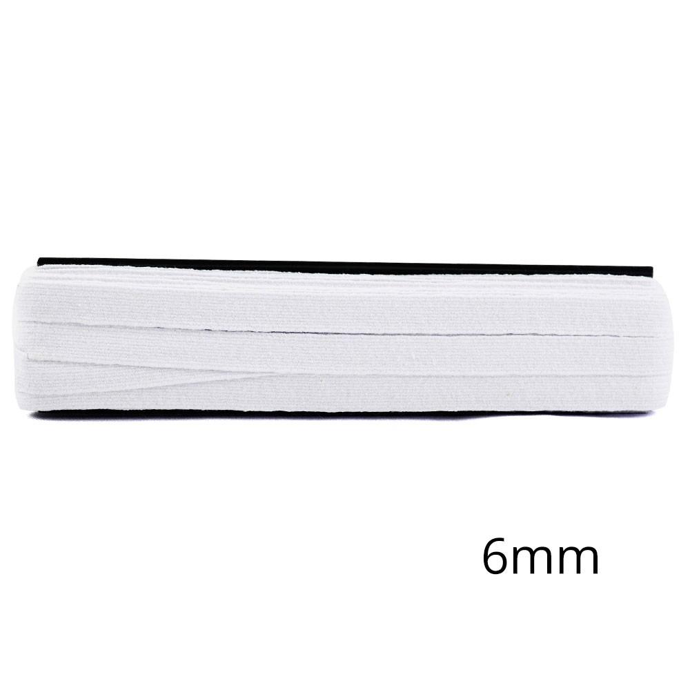Elástico crochê algodão 6mm 10mts Círculo S/A