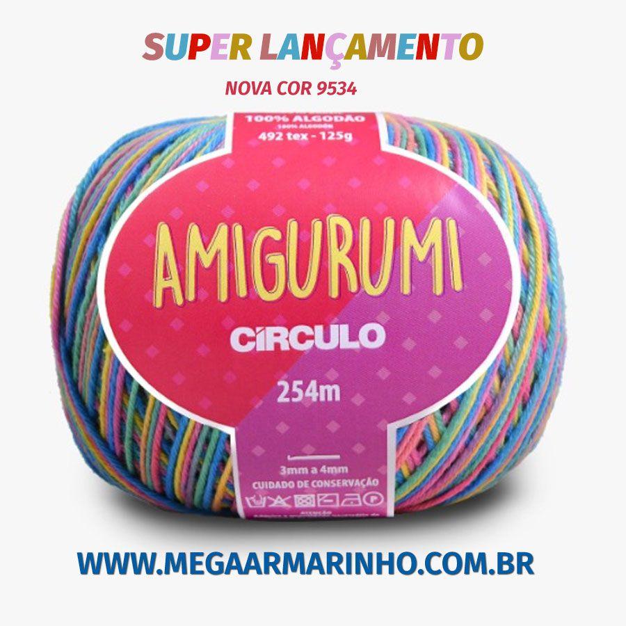 Fio Amigurumi Círculo S/A 125g
