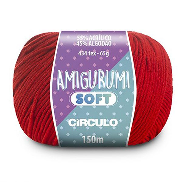 Fio Amigurumi Soft Círculo 150m