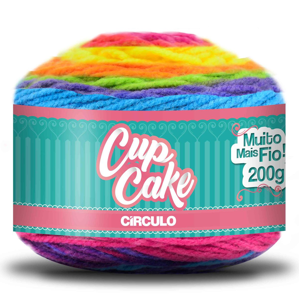 Fio Cup Cake Círculo S/A 200g