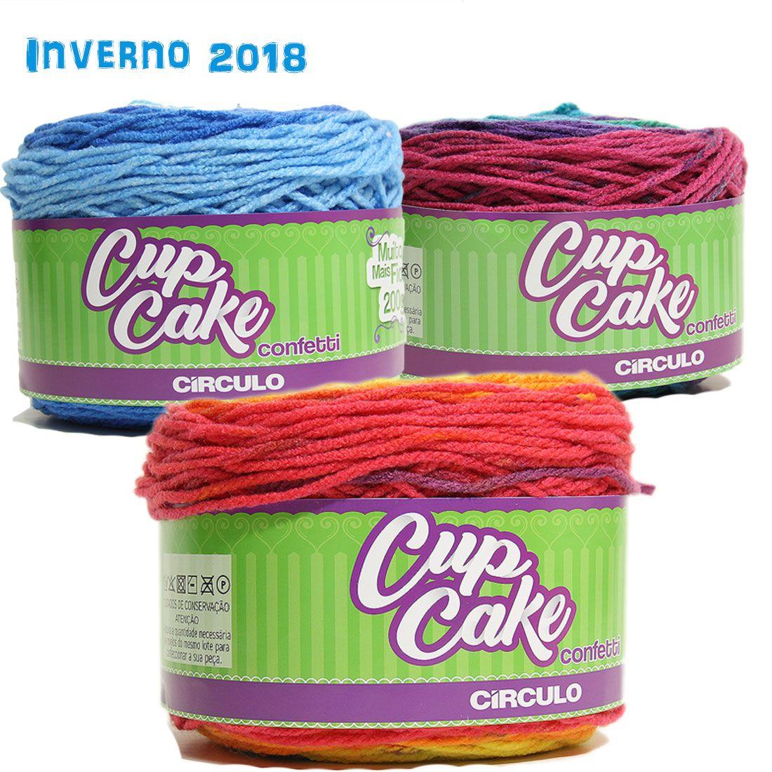 Fio CupCake Confetti Circulo S/A 200g