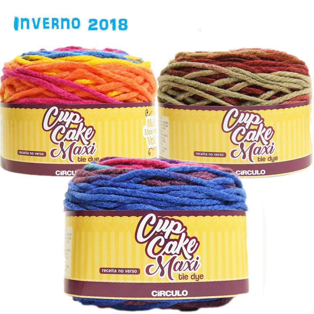 Fio CupCake Maxi Tie Dye Circulo S/A 200g