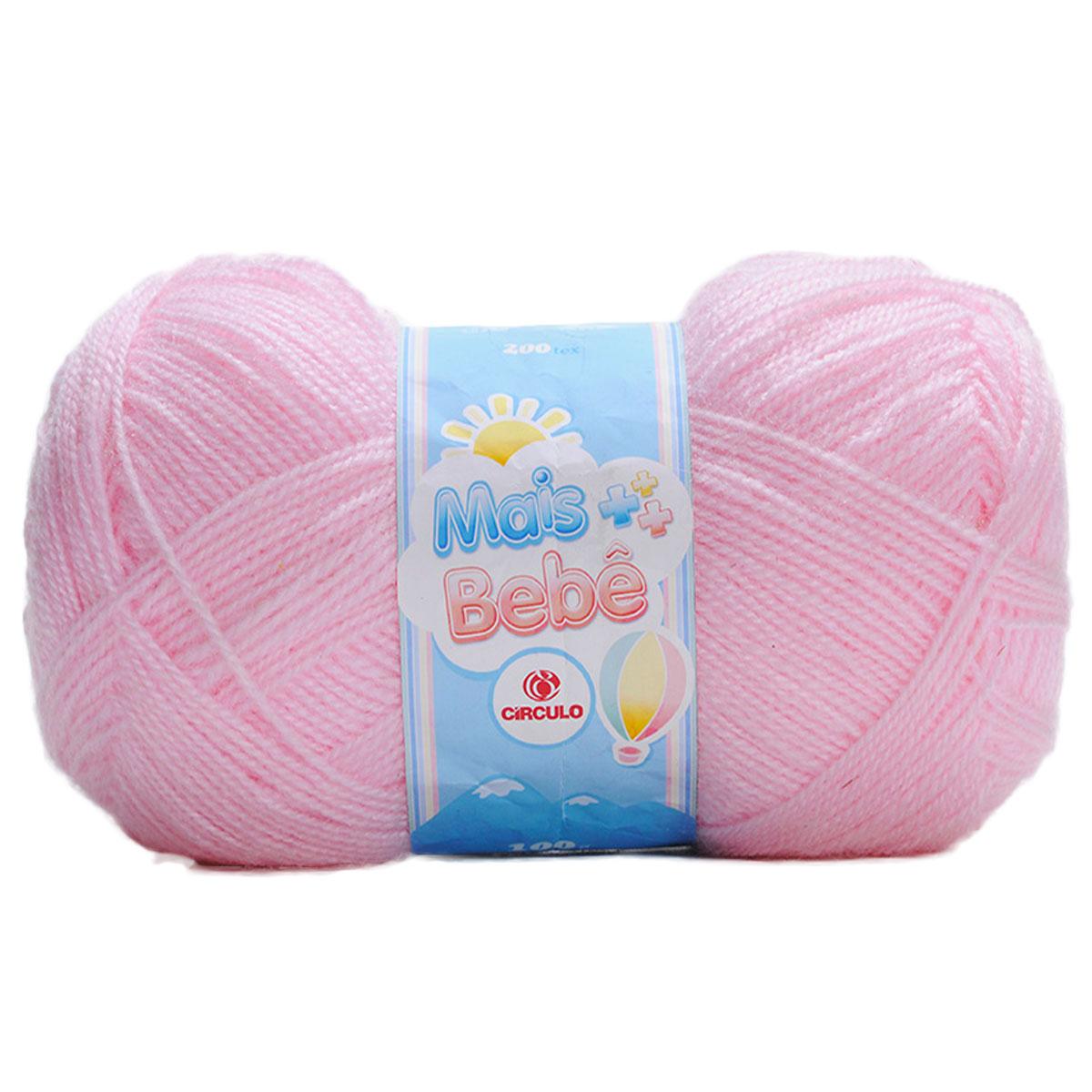 Lã Mais Bebê Círculo S/A 100g