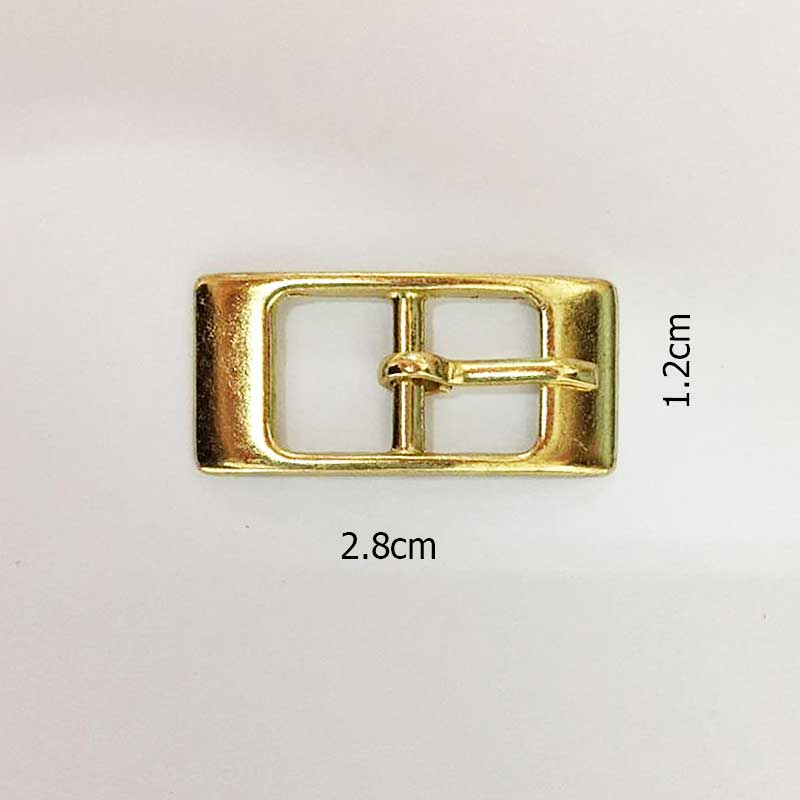Fivela dourada 1 un 2.8cm x 1.2cm