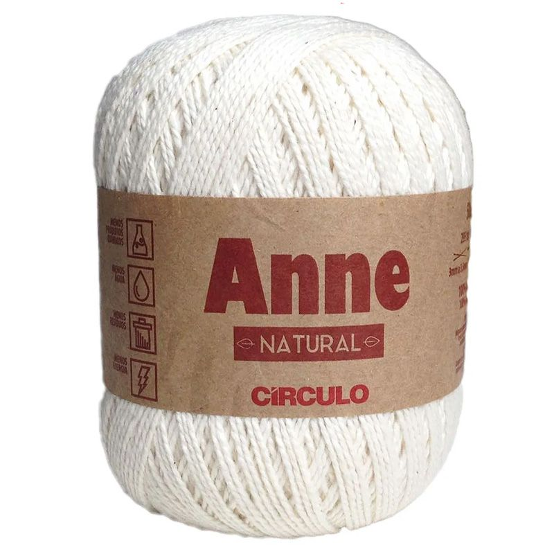 Linha Anne 500 Círculo S/A Natural