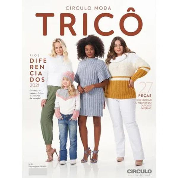 Revista Círculo Moda Tricô Nº 10 - Coleção 2021