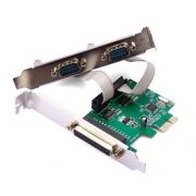 Placa PCI Express 2 Serial + 1 Paralela GA128 - Multilaser