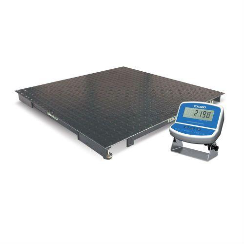 Balança Eletrônica Portátil 2198 150x150cm 1000kg com Indicador Digital 9098 - Toledo
