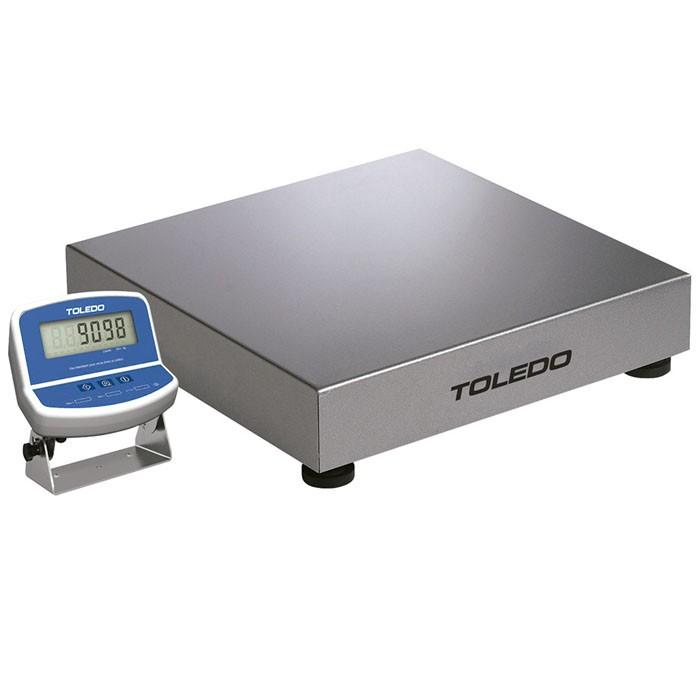 Balança Eletrônica Toledo Modelo 2098 300kg Plataforma Inox sem coluna