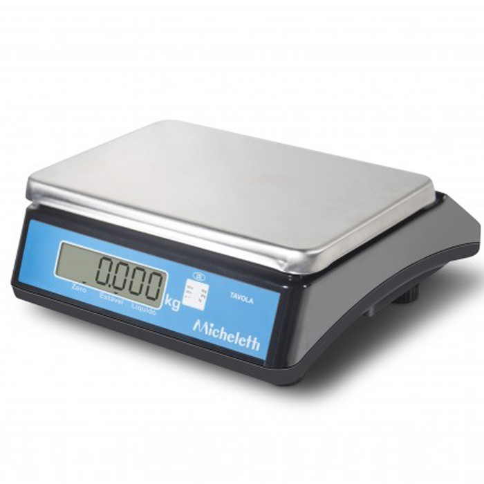 Balança micheletti tavola 60kg/10g