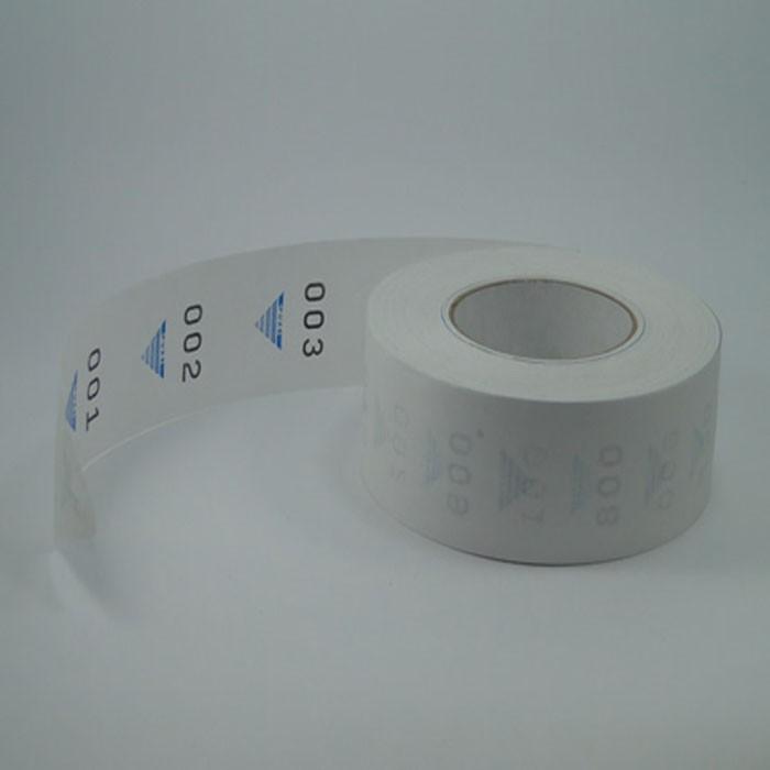Etiquetas, Senhas Numeradas, Rolo com 2.000 senhas