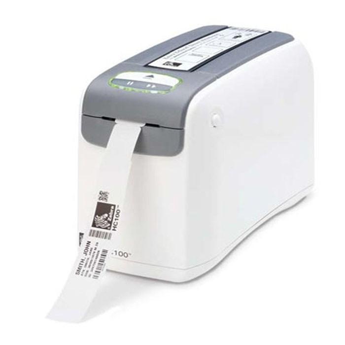 Impressora de Pulseira Zebra HC 100