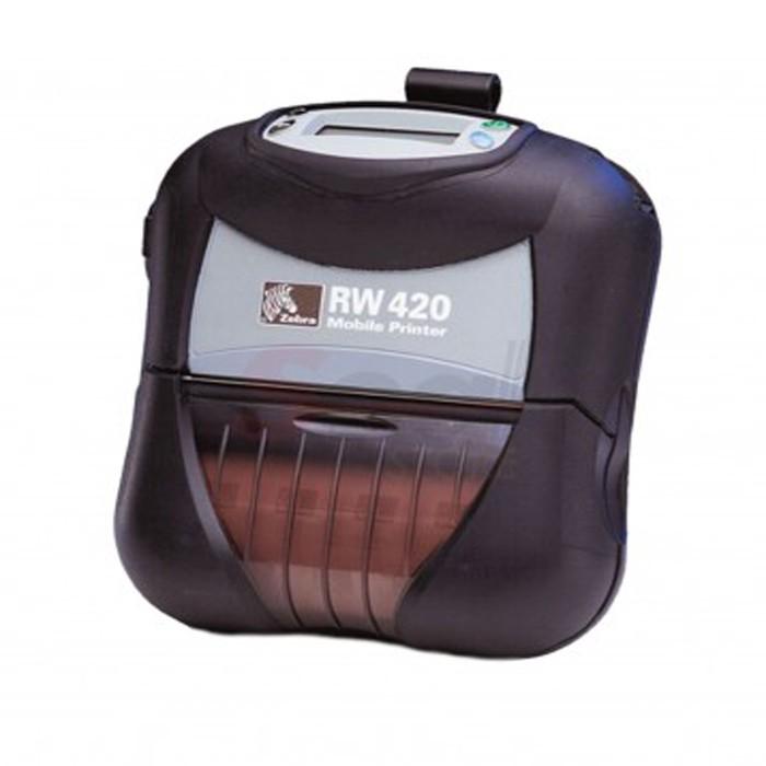 Impressora Portátil Zebra RW 420 Bluetooth com Carregador de Baterias