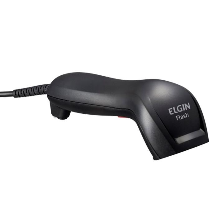 Leitor de código de barras CCD flash Elgin (lê boleto bancário)
