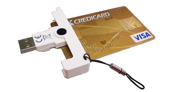 Mini leitor de cartões inteligentes(smart cards) CCID com design inovador - Cis