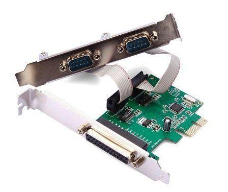 Placa PCI Express 2 Serial + 1 Paralela GA128 - Multilaser