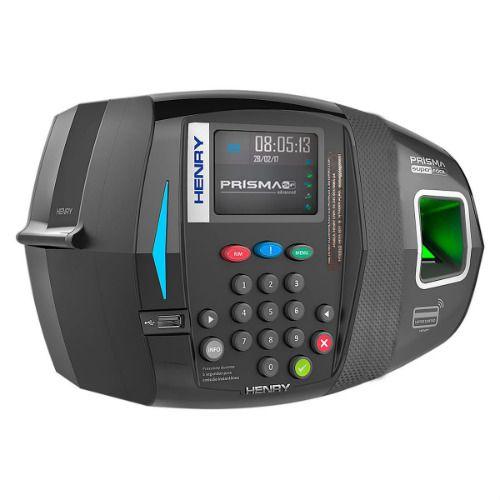 Relógio Eletrônico de Ponto Prisma ADV R2 (Biometria + Proximidade) - Henry