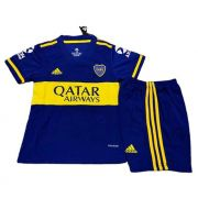 BOCA JUNIORS KIT INFANTIL 2021, UNIFORME TITULAR