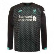 Camisa Liverpool Fc 2020 Manga Longa Uniforme 3 Reserva
