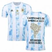 CAMISA SELEÇÃO ARGENTINA CAMPEÃO DA COPA AMÉRICA