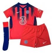 CHELSEA FC KIT INFANTIL 2021, UNIFORME 3 COMPLETO