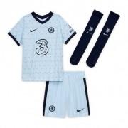 CHELSEA FC KIT INFANTIL 2021, UNIFORME RESERVA