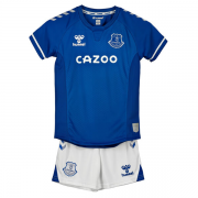EVERTON FC KIT INFANTIL 2021, UNIFORME TITULAR