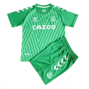 EVERTON KIT INFANTIL 2022, UNIFORME GOLEIRO
