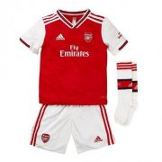 KIT INFANTIL ARSENAL 2020 TITULAR, UNIFORME COMPLETO