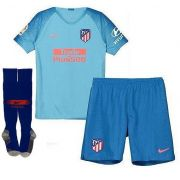 KIT INFANTIL ATLETICO DE MADRID 2019, UNIFORME 2 COMPLETO