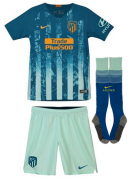 KIT INFANTIL ATLETICO DE MADRID 2019, UNIFORME 3 COMPLETO